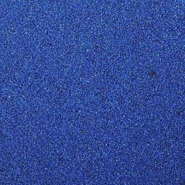 Farbsand, Dekosand in Blau, 1 kg
