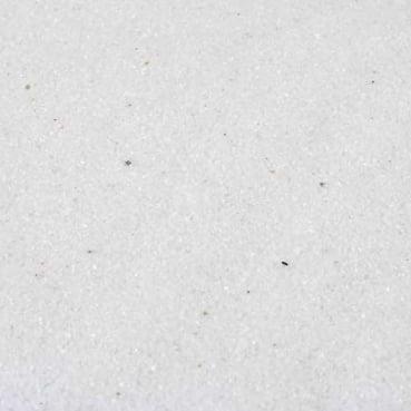 Farbsand, Dekosand in Weiß, 1 kg