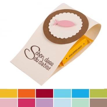 Gastgeschenk Kommunion Konfirmation Taufe Mit Schokolade In 12 Farben