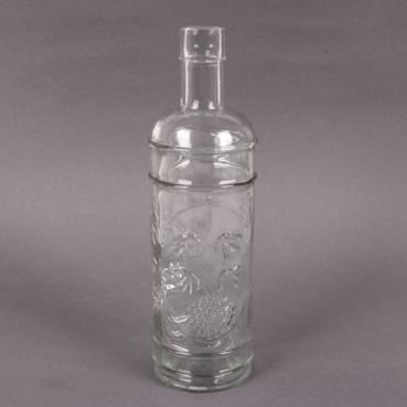 Glas Flaschenvase Vintage, Ornamente, 23 cm, Nr. 1