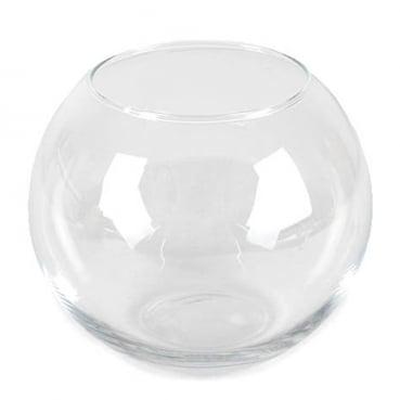 Glas Vase Kugel, Größe M, 20 cm