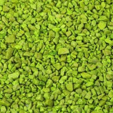 Deko Granulat in Apfelgrün, 1 kg