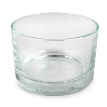 Jumbo Teelichtglas, klar, 85 mm