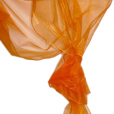 Organza Dekostoffe 1,45 x 3,00 Meter in Orange