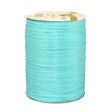 100 m Bastband Rayon Raffia matt in Mint