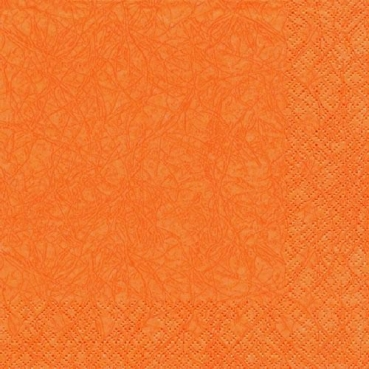 20er Pack Servietten Modern Colors orange, 33 x 33 cm