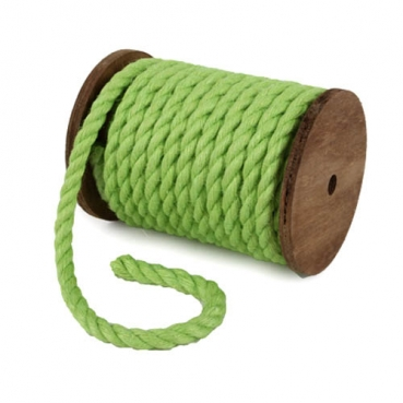 5 Meter Sizo®Jute Kordel in Kiwi, 7 mm