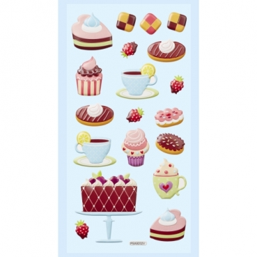 Klebe Softy Sticker Cup Cakes