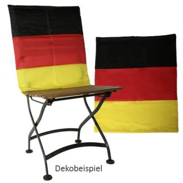 2 Stuhlhussen für Rückenlehnen, Deutschland, Fußball, 60 x 50 cm