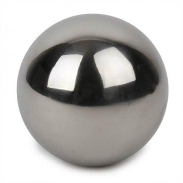 Edelstahlkugel in Silber glänzend, 60 mm