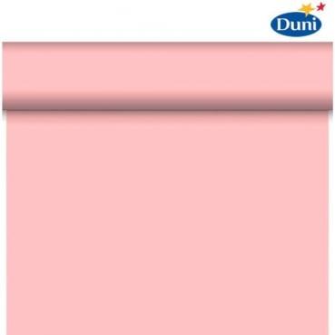 24 Meter Rolle Duni Dunicel Tischläufer, Tête-à-Tête in Mellow Rose, 40 cm Breite