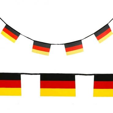 5 Meter Fahnenkette Fußball Deutschland Fahne