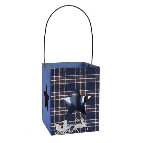 holz-teelichthalter-stern-mit-glaseinsatz-in-blau
