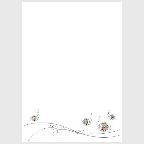 designpapier-a4-in-wei-mit-fisch