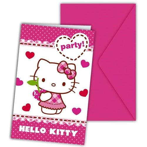 6er-pack-einladungskarten-hello-kitty-hearts