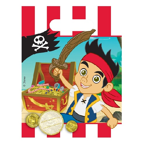 6er-pack-mitgebsel-partytuten-jake-und-die-nimmerland-piraten