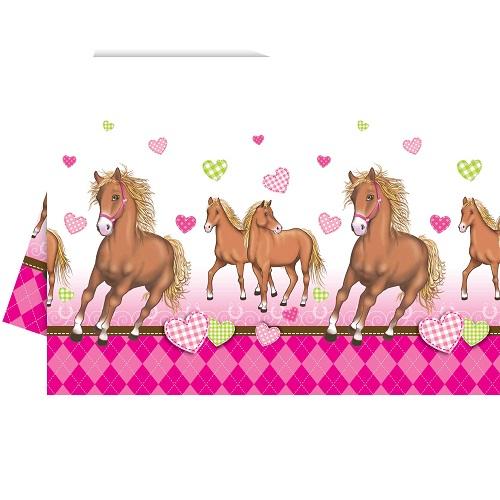 tischdecke-pferde
