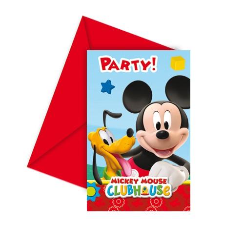 6er-pack-einladungskarten-playful-mickey-mit-umschlag