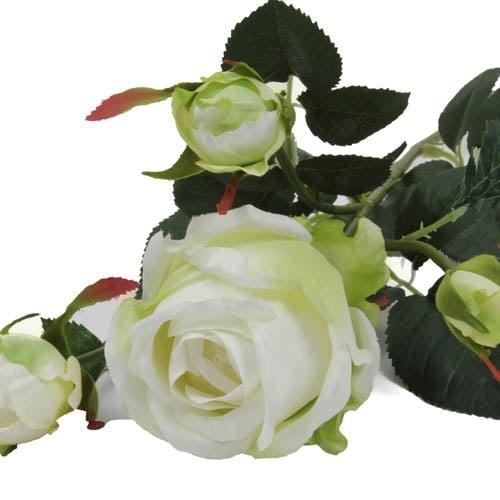 kunstblume-rose-in-wei-grun-mit-1-blute-und-3-knospen-72-cm