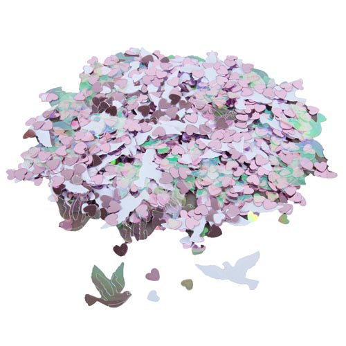 konfetti-herzen-und-hochzeitstauben-in-wei-rosa-klar