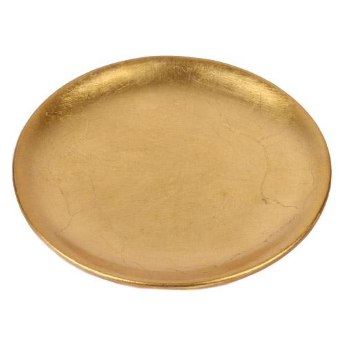 keramik-kerzenteller-in-gold-16-cm