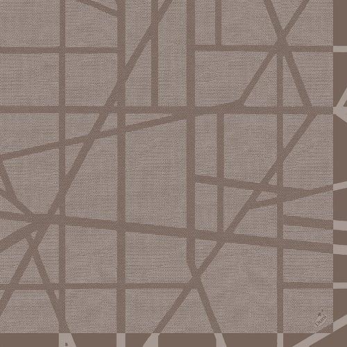duni-dunilin-servietten-maze-greige-40-x-40-cm