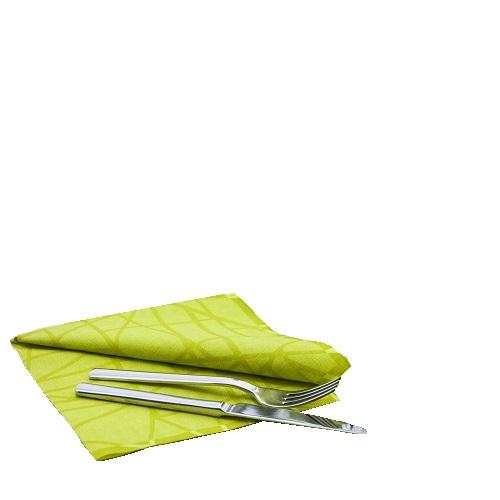 Duni dunilin servietten maze kiwi 40 x 40 cm tafeldeko for Duni servietten weihnachten