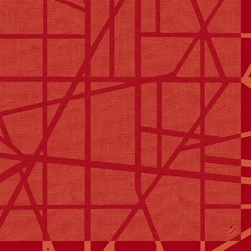 duni-dunilin-servietten-maze-mandarin-40-x-40-cm