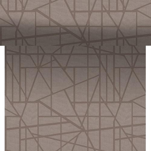 24-meter-rolle-duni-dunicel-tischlaufer-maze-greige