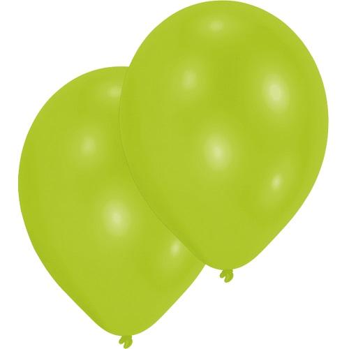 10er-pack-luftballons-in-limonengrun