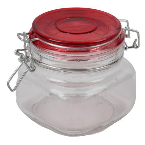 Deko Einmachglas Kerzenglas In Rot Tafeldeko De