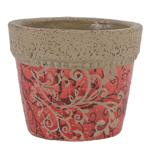 keramik-blumentopf-mit-blumenmotiv-in-rot