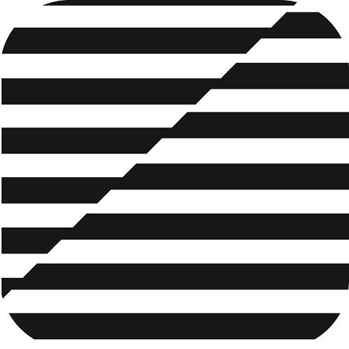 duni-glasuntersetzer-black-white-8-lagig-85-x-85-mm