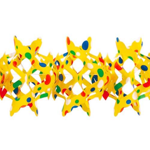 4-meter-konfetti-girlande-in-gelb-schwer-entflammbar