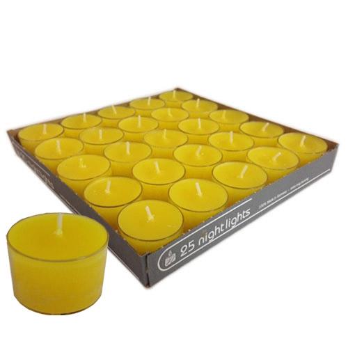 25er-pack-teelichter-gelb-transparente-hulle-8-h-brenndauer