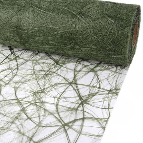 25-meter-sizoweb-tischband-in-olivgrun