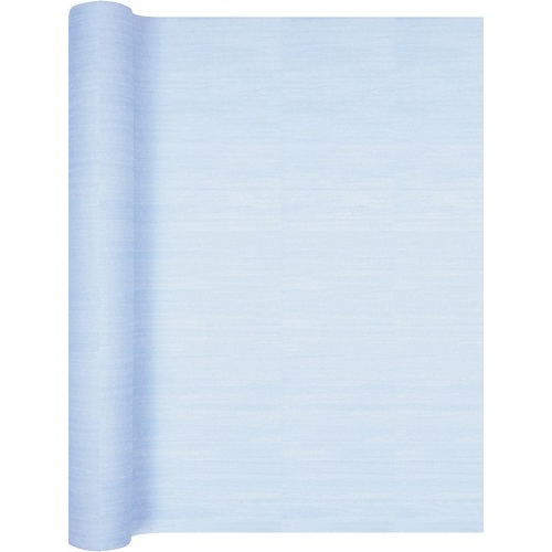 4 9 meter airlaid papier tischl ufer in hellblau 40 cm. Black Bedroom Furniture Sets. Home Design Ideas