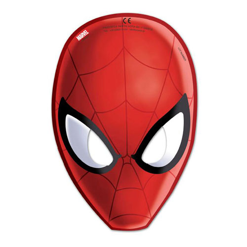 6er-pack-partymasken-spiderman