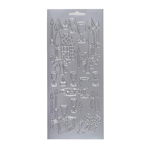 klebe-sticker-konturen-abendmahl-in-silber