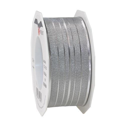 2-meter-schleifenband-streifen-mit-drahtkante-in-silber-40-mm