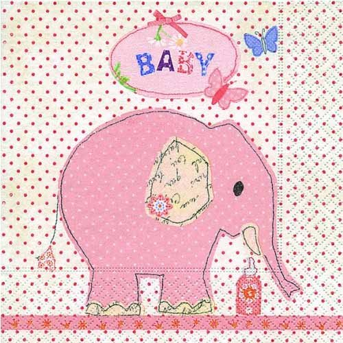 20er-pack-servietten-taufe-baby-elefant-in-rosa-33-x-33-cm