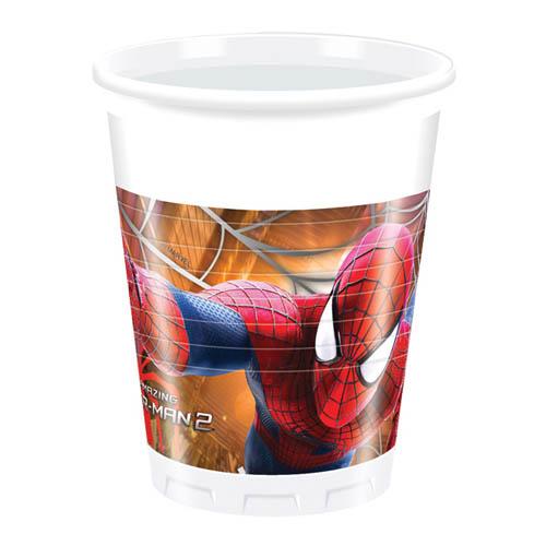 8er-pack-becher-spiderman-2