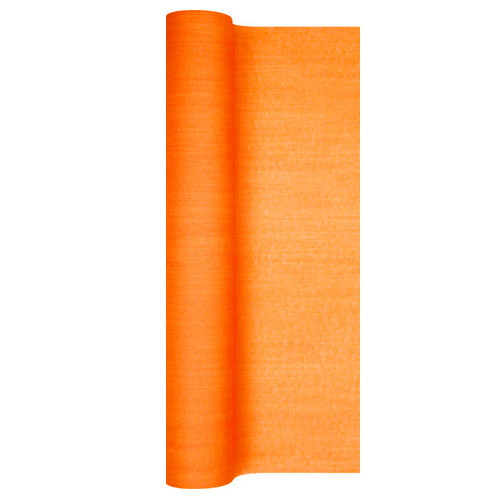 4 9 meter airlaid papier tischl ufer struktur in orange 40 cm. Black Bedroom Furniture Sets. Home Design Ideas