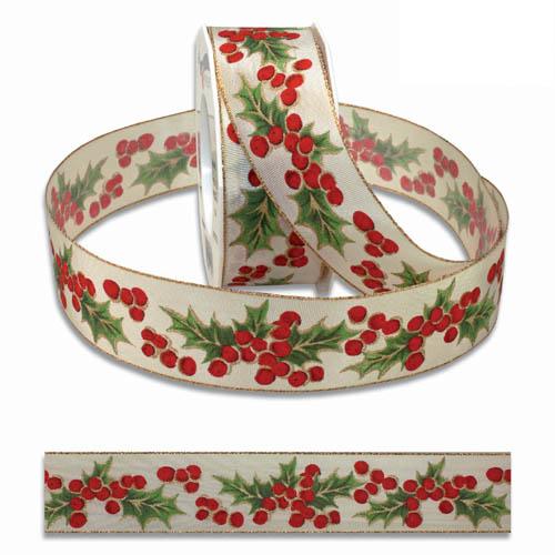 20-meter-weihnachtsband-geschenkband-ilex-bristol-40-mm