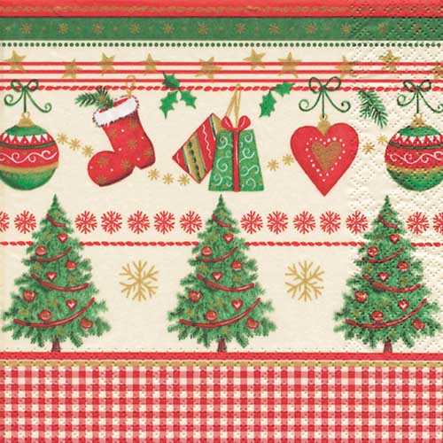 20er pack servietten traditionelle weihnacht 33 x 33 cm for Duni weihnachtsservietten