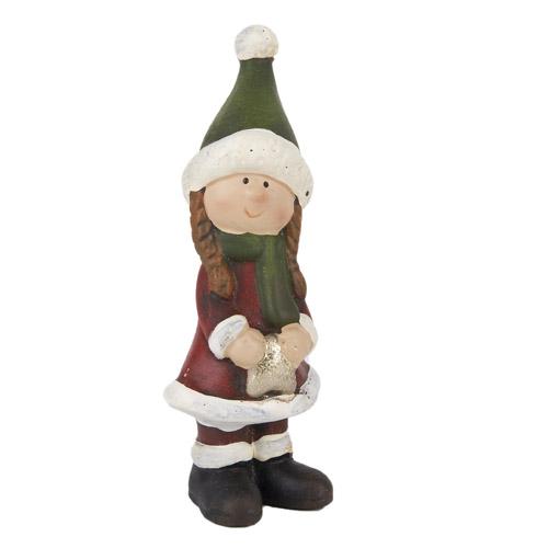 keramik-winter-madchen-mit-gruner-mutze-16-5-cm