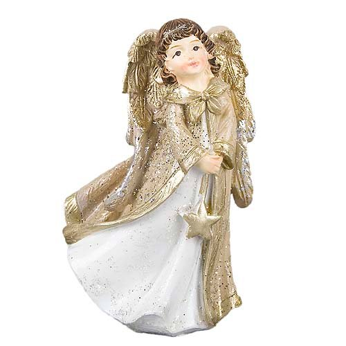 deko-engel-mit-stern-hangend-in-wei-gold-glitzernd-11-cm, 4.95 EUR @ tafeldeko-de