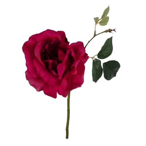 kunstblume-rose-in-beere-22-cm
