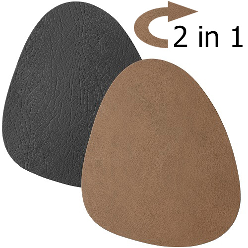 4-duni-leder-untersetzer-2-in-1-in-schwarz-braun