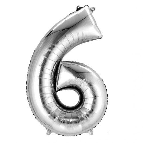 folien-zahlenluftballon-6-in-silber-ohne-helium-verwendbar
